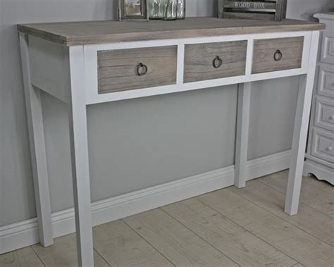 Sideboard Desk by Console Sideboard Desk White Wood Brown Country