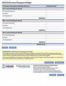budget project budget form With performance management forms templates