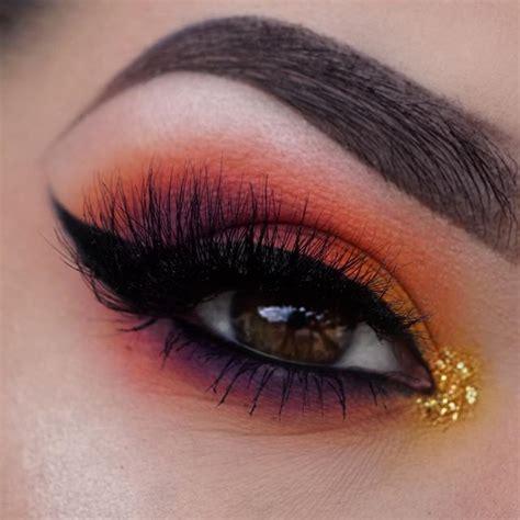 coloured eye makeup ideas  brown eyes hairslondon