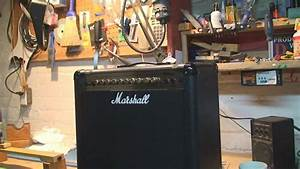 Marshall Mg Series Amplifier Repair