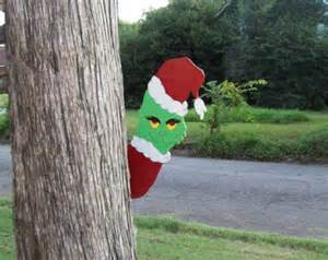 sale 6 grinch stealing lights by ozarkgoldwoodplans on etsy