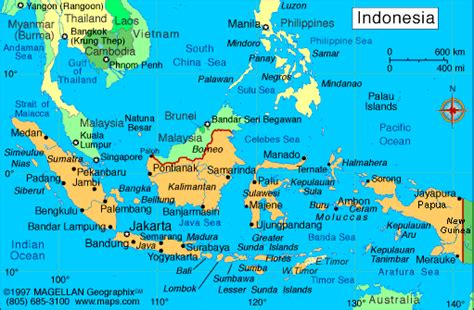 indonesia map regional political maps  asia regional
