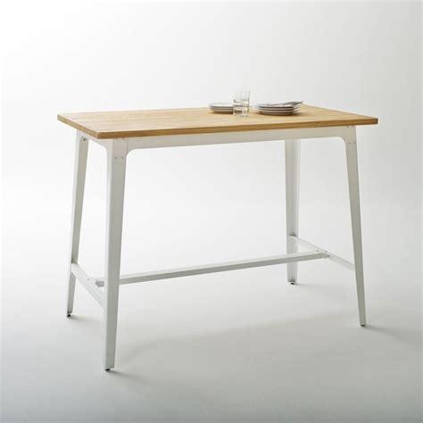 table cuisine la redoute table bar hiba blanc la redoute interieurs la redoute