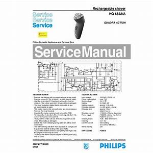 Philips 6832 Service Manual