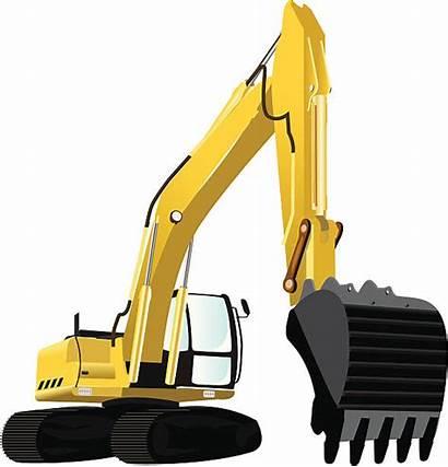 Excavator Bagger Clipart Grafiken Vectors Vektoren