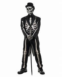 Halloween Skelett Kostüm : skelett frack kost m anzug f r halloween karneval universe ~ Lizthompson.info Haus und Dekorationen