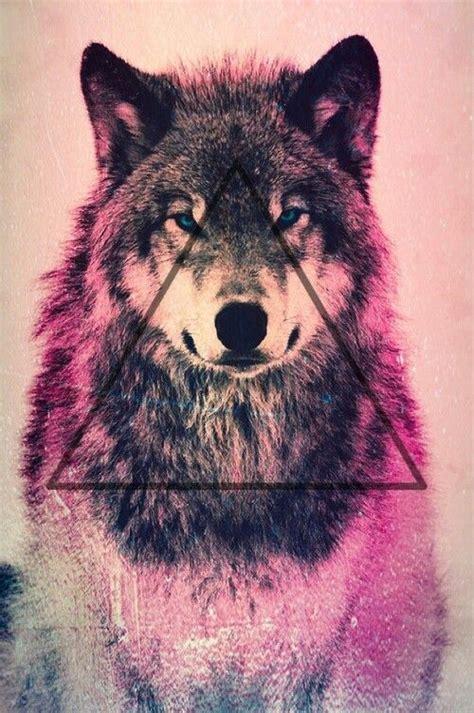 Geometric Wolf Phone Wallpaper by Wolf Wallpaper Inspiration