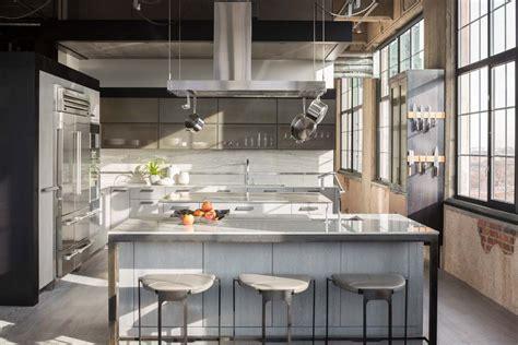 loft kitchen design the flour mill modern apartment design in denver 3839
