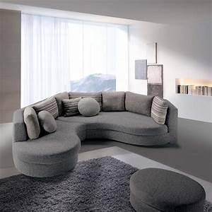 canape d39angle arrondi ravel arredaclick With tapis de couloir avec canape arrondi tissu