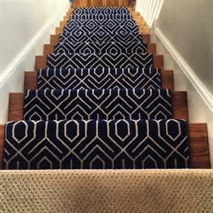 Best Carpet For Hallway And Stairs by Stair Runners And The One Fiber You Should Never Use