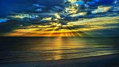 Sunset Summer Cool Nature Desktop Beach Screen
