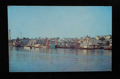 Ebay Boats For Sale Essex by 1940s Inner Harbor Fishing Boats Gloucester Ma Essex Co