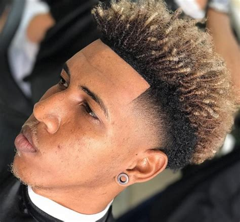 coiffure afro homme dessin passions