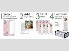 Make Custom Memorial Bookmarks Online! Lamcraft, Inc