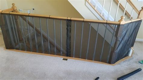Child Proof Banister by Diy Baby Proof Banister Railing
