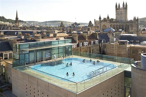 Roman Baths In England And The New Thermae Bath Spa