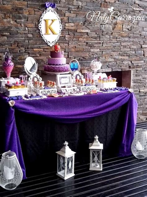 descendantsmaleficents daugther birthday party ideas