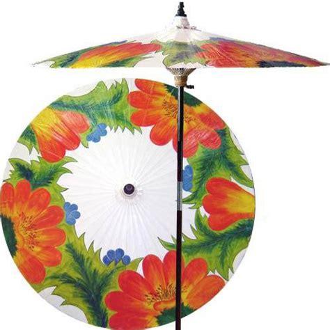 far east garden beijing white outdoor patio umbrella
