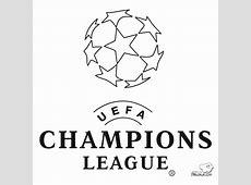 Logo Uefa Champions League Dibujalia Dibujos Para Colorear