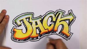 How to Draw Graffiti Letters - Jack in Graffiti Lettering ...