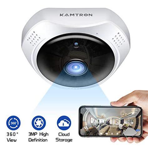 Ip Kameras Was Machen Tiere Wenn Sie Alleine Zu Hause Sind by Kamtron Ip 220 Berwachungskamera 1536p Hd Wifi 360 176 Fisheye