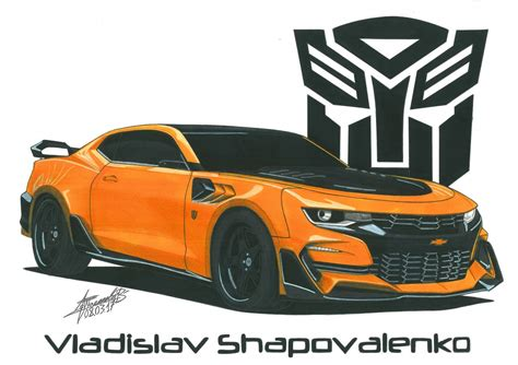Chevrolet Camaro Drawing Getdrawings Free For