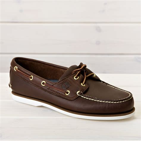 Timberland Boat Shoes by Timberland Classic Boat Shoes Brown Aranjackson Co Uk