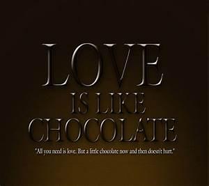 I Love Chocolate Wallpaper - WallpaperSafari