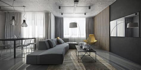 grey home interiors dark themed interiors using grey effectively for interior design