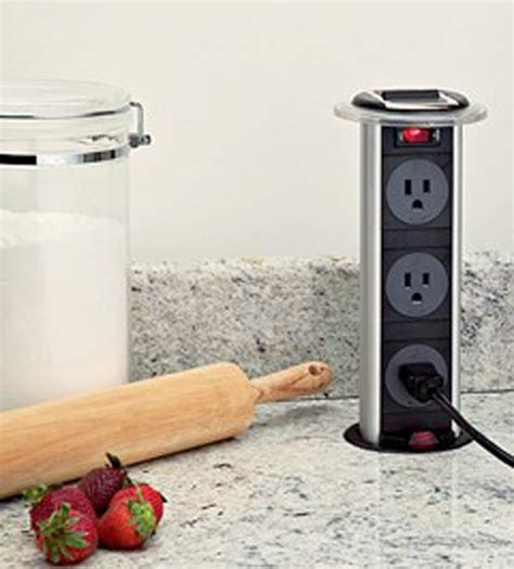 pop up outlet for kitchen island pop up electrical outlet for kitchen picture the recipe 9148