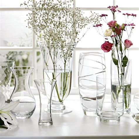 Wilkinson Vases by New Clear Glass Vases From Wilkinson Vases Ideal Home