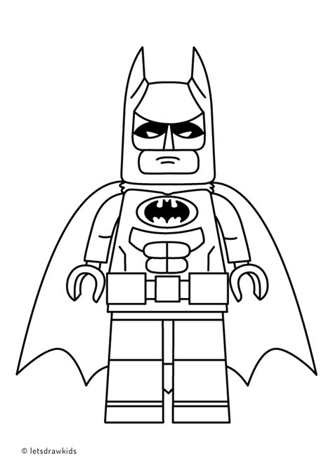 Batman Kleurplaat Lego by Coloring Page For Lego Batman From The Lego Batman