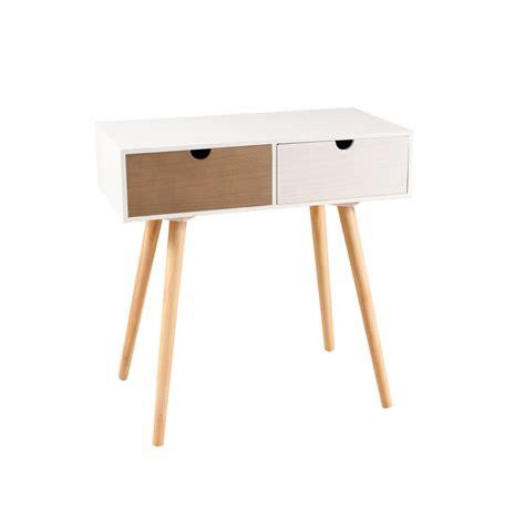 canapé tiroir bout de canapé 2 tiroirs meubles macabane meubles et