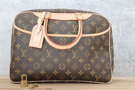 louis vuitton deauville monogram travel bag