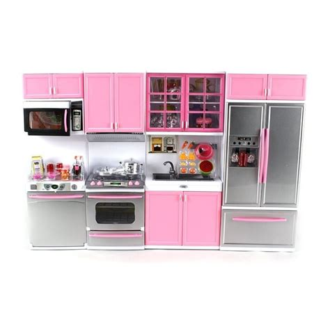 Dollhouse Furniture Kitchen Playset Barbie House