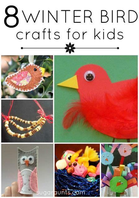 winter bird activities  crafts cardinals crafts