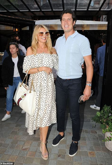 Tess Daly enjoys a rare lunch date with dapper husband ...