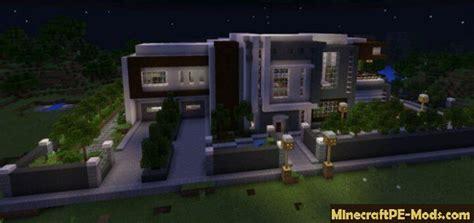 modern mansion map  minecraft pe