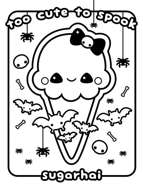 Kawaii Coloring Pages   coloringsuite.com