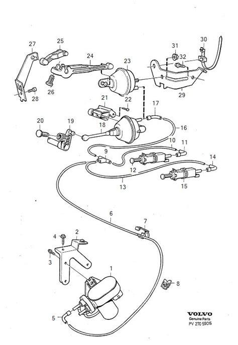 Volvo Cruise Diagram by 1390903 Volvo Vacuum Booster Volvo Parts Webstore Oak