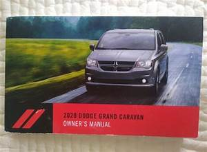 2020 Dodge Grand Caravan Owners Manual