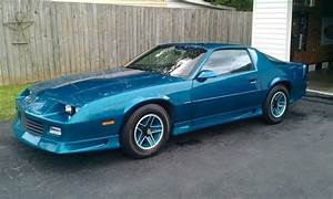 1991 Chevy Camaro RS rare Teal color at the time ...