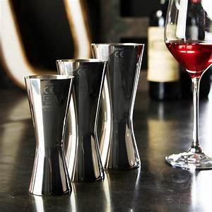 Aero Wine Measure 125ml CE Marked - 18/8 Steel - Urban Bar