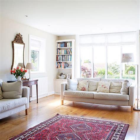 classic livingroom traditional white living room with oak floor living room decorating housetohome co uk