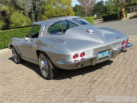 corvette stingray  split window match  hp