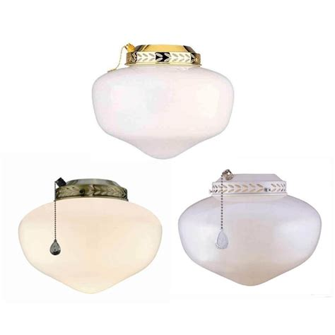 shop harbor multi finish ceiling fan light kit with
