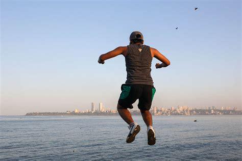 mumbai outdoor fitness yoga  exercising