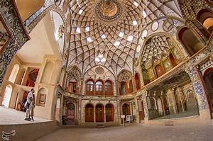 Historical House of Boroujerdis in Iran's Kashan