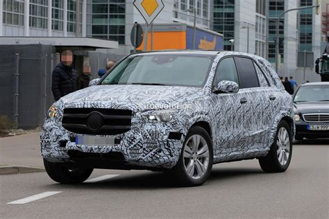 2019 Mercedesbenz Gle Spied Inside And Out, Dashboard