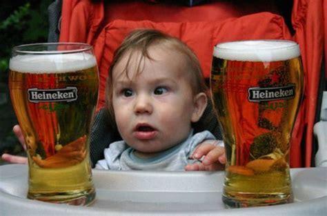 Kid Drinking Beer Meme - babies getting drunk thechive